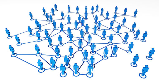Connecting & Networking Image